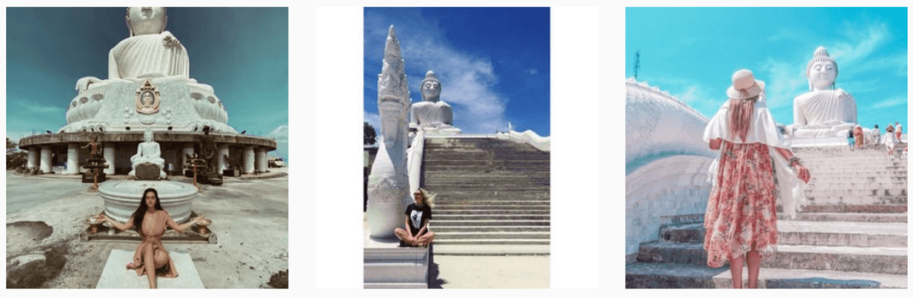 Big-Buddha-Pukhet, instagramable locations in thailand