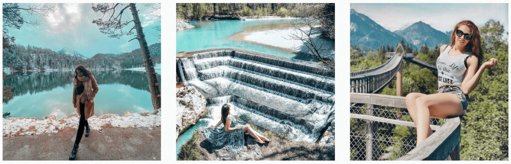 Lechfalls | Most Instagrammable Places in Germany: