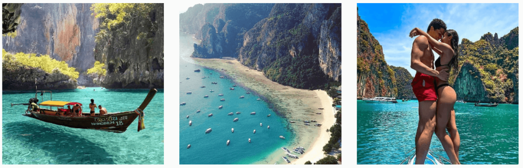 Phi-Phi-Islands-Thailand   Most Instagrammable places in Thailand